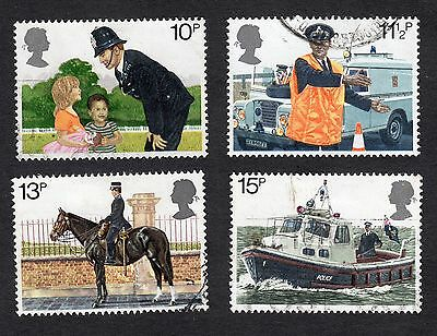 1979 150th Anniv of Metropolitan Police SG 1100 to 1103 Very Good Used
