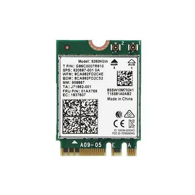 For Intel 9260 Wireless Wifi Card NGFF M.2 Dual Band 2.4/5Ghz Bluetooth 5.0 TP