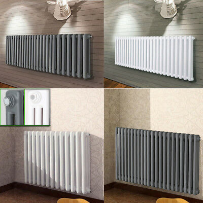Style Vintage Cast Iron Radiator 2 3 Column Traditional Rads In White Anthracite