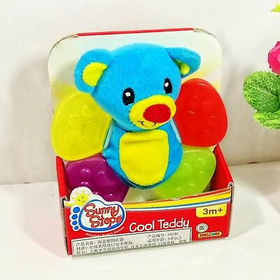 Baby Kids Children Hanging Tug & Pull Melody Player Ribbons Soft Plush Doll Toy
