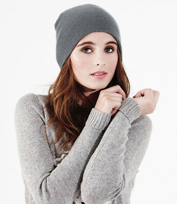 PULL-ON Beanie Hat | 18 COLOURS | Beechfield Original Pull-On Headwear