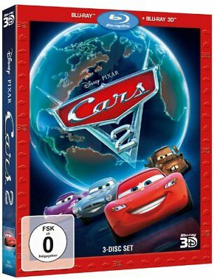 Cars 2 - 3 Disc Set - [3D Blu-ray] NEU/OVP