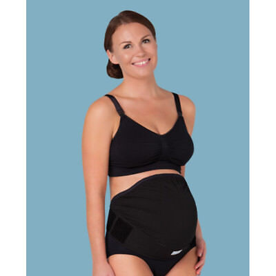 Carriwell Overbelly adjustable Maternity Support Band Belt Bump Black