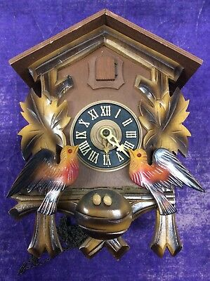 Vintage 10J Cuckoo Clock Mfg Co Inc Project West Germany FOR PARTS
