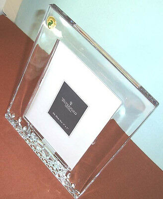 """Waterford Crystal LISMORE ESSENCE Picture Photo Frame 5x7"""" #151890 Boxed New"""