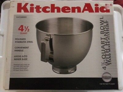 Kitchenaid K45sbwh Bowl - Kitchen Appliances Tips And Review