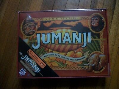 JUMANJI BOAARD GAME---  SEALED  MINT CONDITION. BY CARDINAL GAMES priced lower
