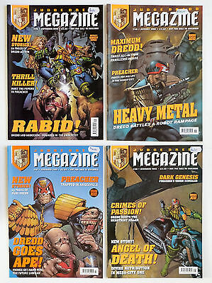 4 x JUDGE DREDD MEGAZINE: 1998, No's. 45, 46, 47 & 48.