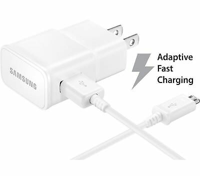 Amazon Phones Adaptive Fast Wall Charger & 5 ft USB Cable