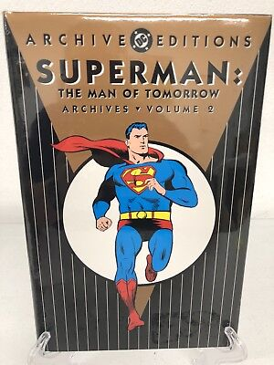 Superman Man of Tomorrow Volume 2 DC Comics Archive Edition HC Brand New Sealed