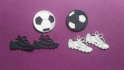 Die Cut Footballs and Football Boots