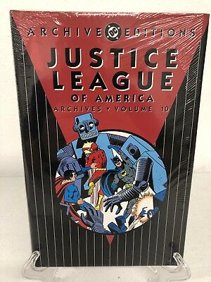 Justice League of America Archives Vol 10 DC Comics Hard Cover Brand New Sealed
