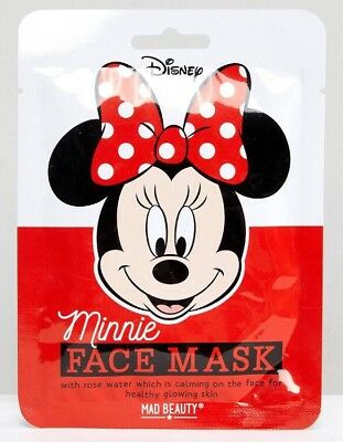 Official Disney Minnie Mouse Face Mask | Rose Water | Mad Beauty