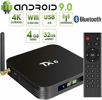 Android TV Box 4K Ultra UHD Smart Media Player Streamer Netflix Youtube KD load