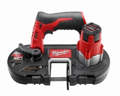Milwaukee Sub-Compact Band Saw Cordless 12-Volt Lithium-Ion (Tool-Only) New