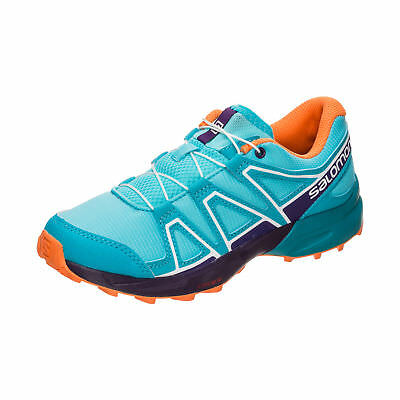 Salomon Speedcross Trail Laufschuh Kinder türkis / orange NEU