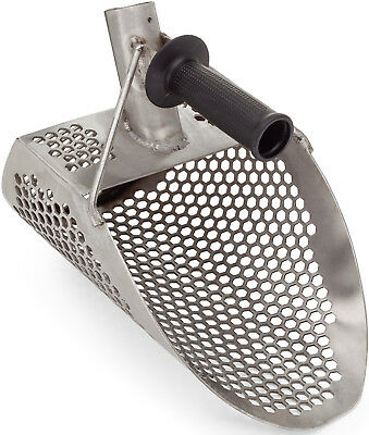 Sand Scoop Metal Detector Shovel Detecting Scoops Beach Water Hunting Stainless