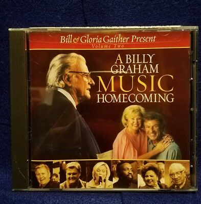A Billy Graham Music Homecoming, Vol. 2 by Bill & Gloria Gaither (Gospel) (CD, O
