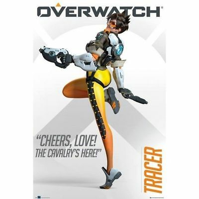 Overwatch Tracer Gaming Poster