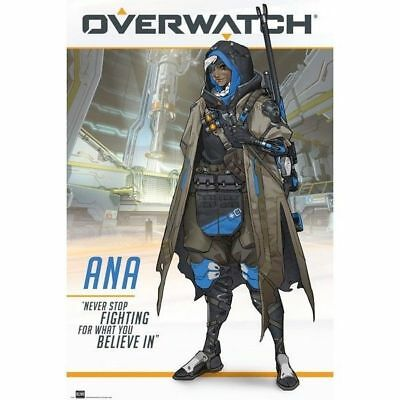 Overwatch Ana Gaming Poster