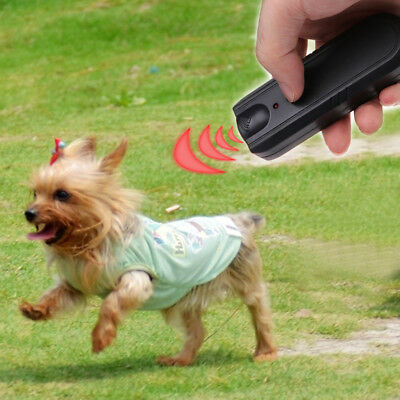 LED Ultrasonic Anti-Bark Aggressive Dog Pet Repeller Barking Stopper Deterrent