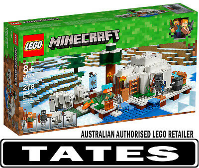 LEGO 21142 The Polar Igloo Minecraft from Tates Toyworld
