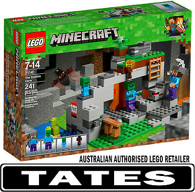 LEGO 21141 The Zombie Cave Minecraft from Tates Toyworld