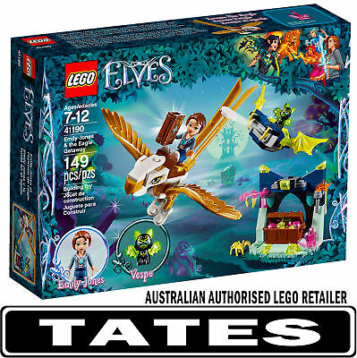 LEGO 41190 Emily Jones & The Eagle Getaway Elves from Tates Toyworld