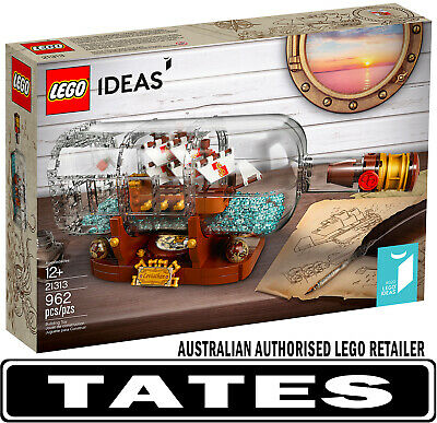 LEGO 21313 Ship In A Bottle Hard To Find from Tates Toyworld