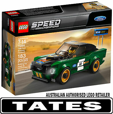 LEGO 75884 1968 Ford Mustang Fastbac Speed Champions from Tates Toyworld
