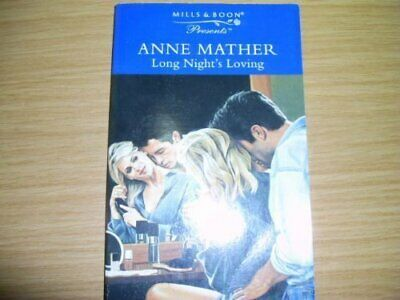 Long Night's Loving (Presents) by Mather, Anne Paperback Book The Cheap Fast