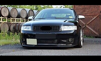 Für Audi A4 S4 B6 Cup Front Spoiler Lippe Frontschürze Frontlippe Frontansatz