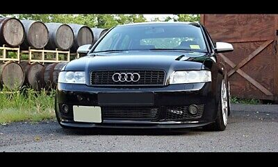 Für Audi A4 S4 B6 Cup Front Spoiler Lippe Frontschürze Frontlippe Frontansatz-