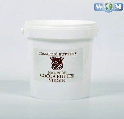 Cocoa Butter Virgin - 100% Pure and Natural - 1Kg (BUTT1KCOCOVIRG)