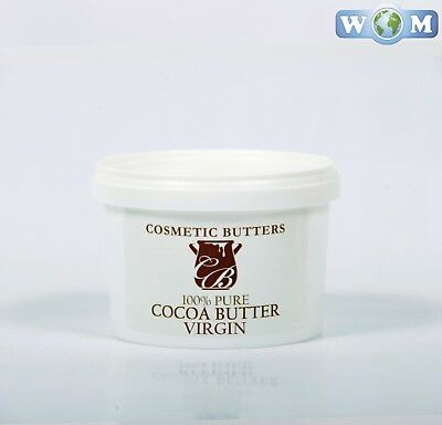 Cocoa Butter Virgin - 100% Pure and Natural - 500g (BUTT500COCOVIRG)