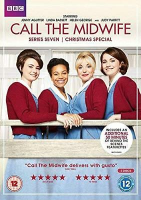 Call The Midwife - Series 7  with Jenny Agutter New (DVD  2018)