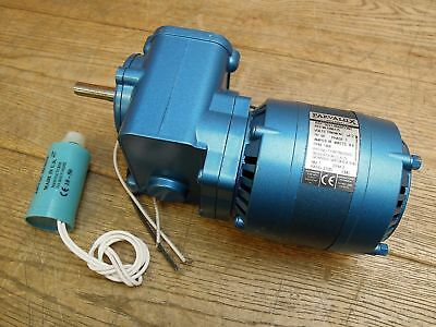 Parvalux SD21-0042/CONT 230V AC Electric Motor Single Phase 1400RPM 27/25 Gear