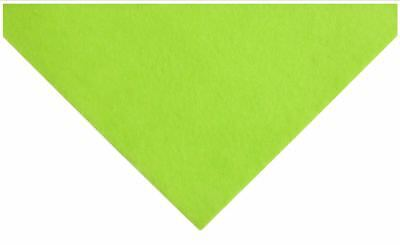 Lime Green Acrylic Felt A4 Sheet 23cm x 30cm Toys Craft Factory AF01/13