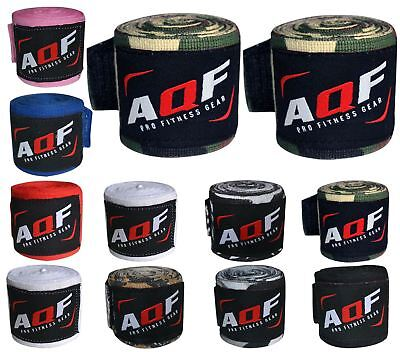AQF Hand Wraps 4 m Inner MMA Boxing Gloves Bandages Training Muay Thai AU