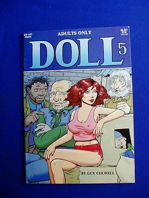 Doll 5: underground by Guy Colwell. 1st print. VFN+.