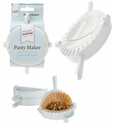 Set of 2 Mini Pasty Makers Oval Pasty Samosa Edging Booking Baking Mould
