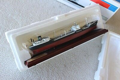 FAMM Fuel/Marine Marketing Texaco Tanker New York w/Display Base NIB