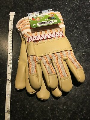 Children's Kids Work Or Garden Gloves For Little Helpers
