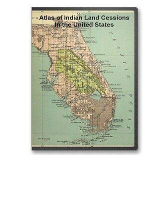 Atlas of Indian Land Cessions In the United States  CD - B91