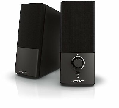 Bose Companion 2 Series III Multimedia Speakers - for PC (with 3.5mm AUX & PC in