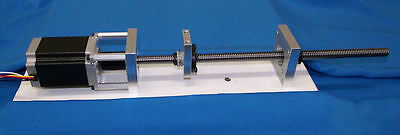 "24"" NoMachine 1/2-10 acme lead screw kit CNC router delrin nut bearing bracket"