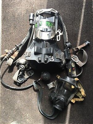 MSA Firehawk 4500psi CBRN Airpack SCBA with Heads-Up-Display & RIT