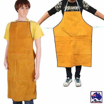 Cow Leather Welding Apron Welder Heat Insulation Protection Equipments HKI000403