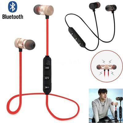 Wireless Bluetooth V4.1 Stereo Earphone Magnet Sport Headset Handsfree Universal