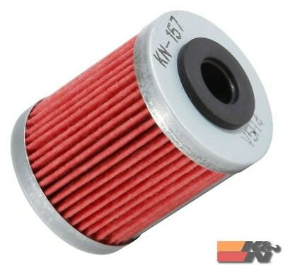 K&N Oil Filter For POWERSPORTS CARTRIDGE KN-157